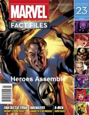 Marvel Fact Files #23 Eaglemoss Publications